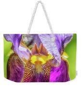 Purple Iris 2018 Weekender Tote Bag