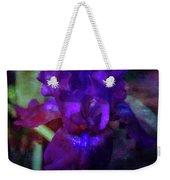 Purple Iris 6152 Dp_2 Weekender Tote Bag