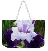 Purple Iris Flower Art Prints Garden Floral Baslee Troutman Weekender Tote Bag