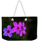 Purple Weekender Tote Bag