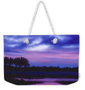 Purple Landscape Or Jean's Clearing Weekender Tote Bag