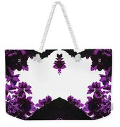 Purple Leaves Weekender Tote Bag