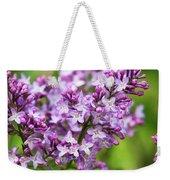 Purple Lilac Flowers Weekender Tote Bag