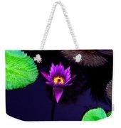 Purple Lily Weekender Tote Bag