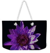 Purple Lily Monet Weekender Tote Bag