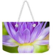 Purple Lotus Blossom Weekender Tote Bag