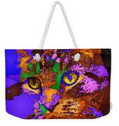 Purple Love. Pet Series Weekender Tote Bag