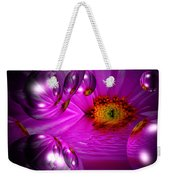 Purple Magic Weekender Tote Bag