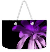 Purple Magnolia 2 Weekender Tote Bag
