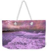 Purple Majesty  Weekender Tote Bag by Betsy Knapp