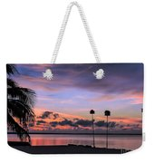 Purple Martin Sky Weekender Tote Bag