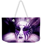 Purple Mask Flash Weekender Tote Bag