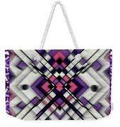 Purple Maze Weekender Tote Bag