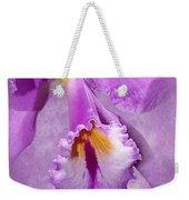 Purple Mist Orchid Weekender Tote Bag