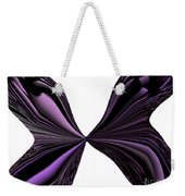 Purple Monarch Butterfly Abstract Weekender Tote Bag