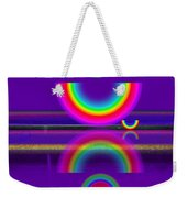 Purple Moon Weekender Tote Bag