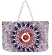 Purple Mosaic Mandala - Abstract Art By Linda Woods Weekender Tote Bag