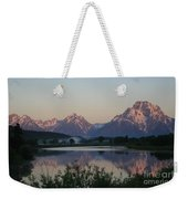Purple Mountain Majesty  Weekender Tote Bag