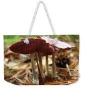 Purple Mushroom 2 Weekender Tote Bag
