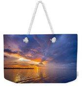 Purple Orange Dream Sunset Weekender Tote Bag