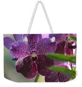 Purple Orchid Beauty Weekender Tote Bag