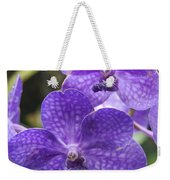 Purple Orchids Weekender Tote Bag