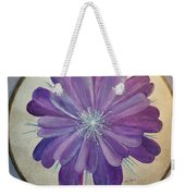 Purple Paradise Weekender Tote Bag
