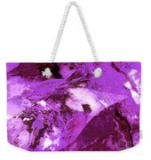 Purple Passion Abstract Weekender Tote Bag
