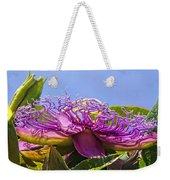 Purple Passion Flower  Weekender Tote Bag