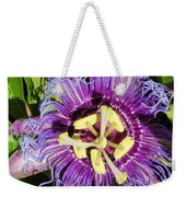 Purple Passion Flower Weekender Tote Bag