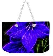 Purple Passion Weekender Tote Bag by Joann Copeland-Paul