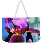 Purple Petals Four  Weekender Tote Bag