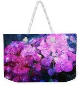Purple Pink Painterliness Weekender Tote Bag