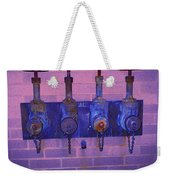 Purple Pipes Weekender Tote Bag