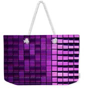 Purple Pixels Weekender Tote Bag