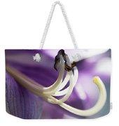 Purple Pollenate Weekender Tote Bag