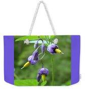 Purple Power Weekender Tote Bag