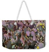 Purple Prickly Pear 2 Weekender Tote Bag