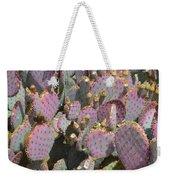 Purple Prickly Pear 3 Weekender Tote Bag