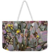 Purple Prickly Pear 1 Weekender Tote Bag