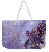 Purple Prose Weekender Tote Bag