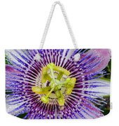 Purple Radial Weekender Tote Bag