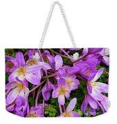 Purple Rain Lilies Weekender Tote Bag