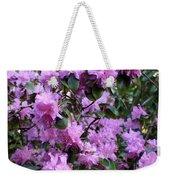 Purple Rhododendrons Weekender Tote Bag