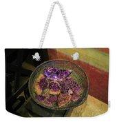 Purple Rocks Weekender Tote Bag