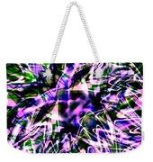 Purple Sea Monster Weekender Tote Bag