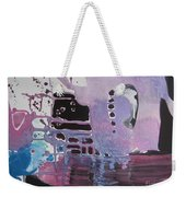 Purple Seascape Weekender Tote Bag