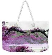 Purple Sensation Weekender Tote Bag