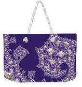 Purple Silk Weekender Tote Bag