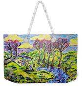 Purple Skies Seven Weekender Tote Bag